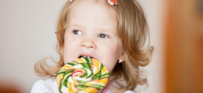 Сладости в детском возрасте