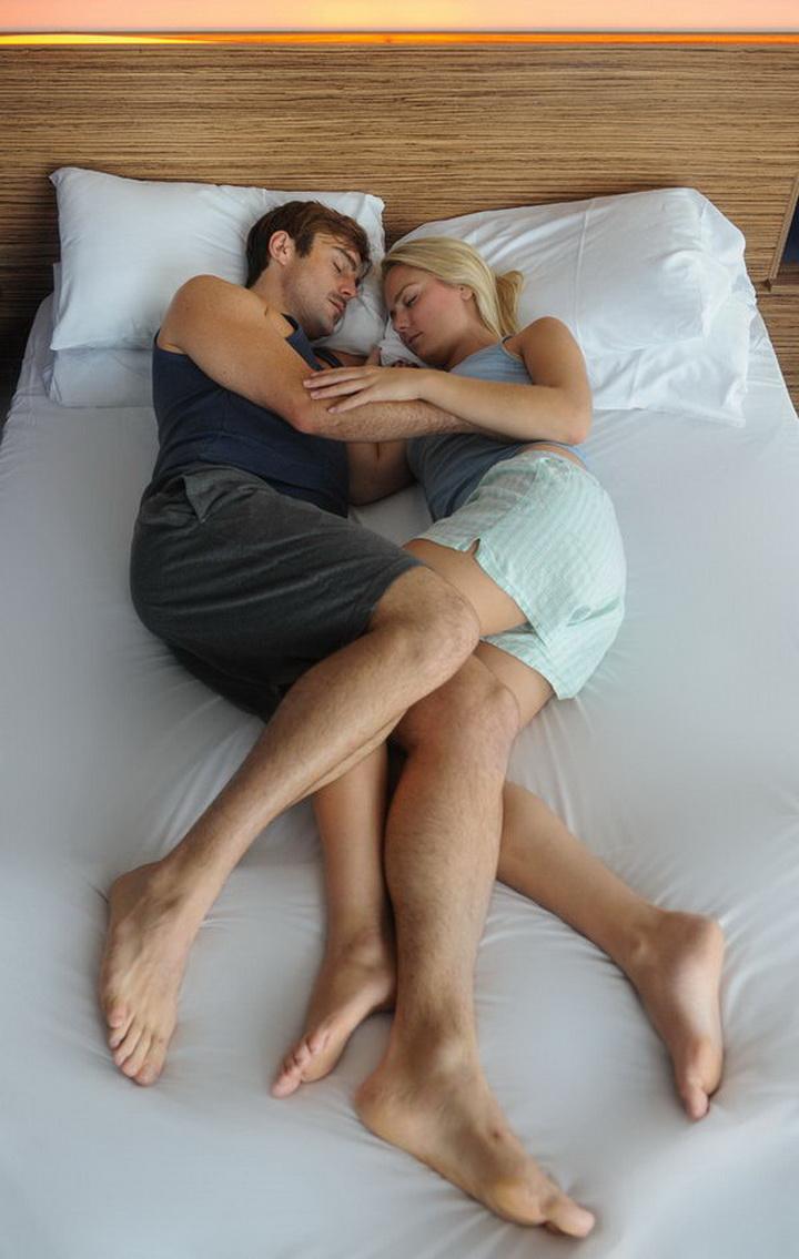 Секс в постели после сна 7 фотография