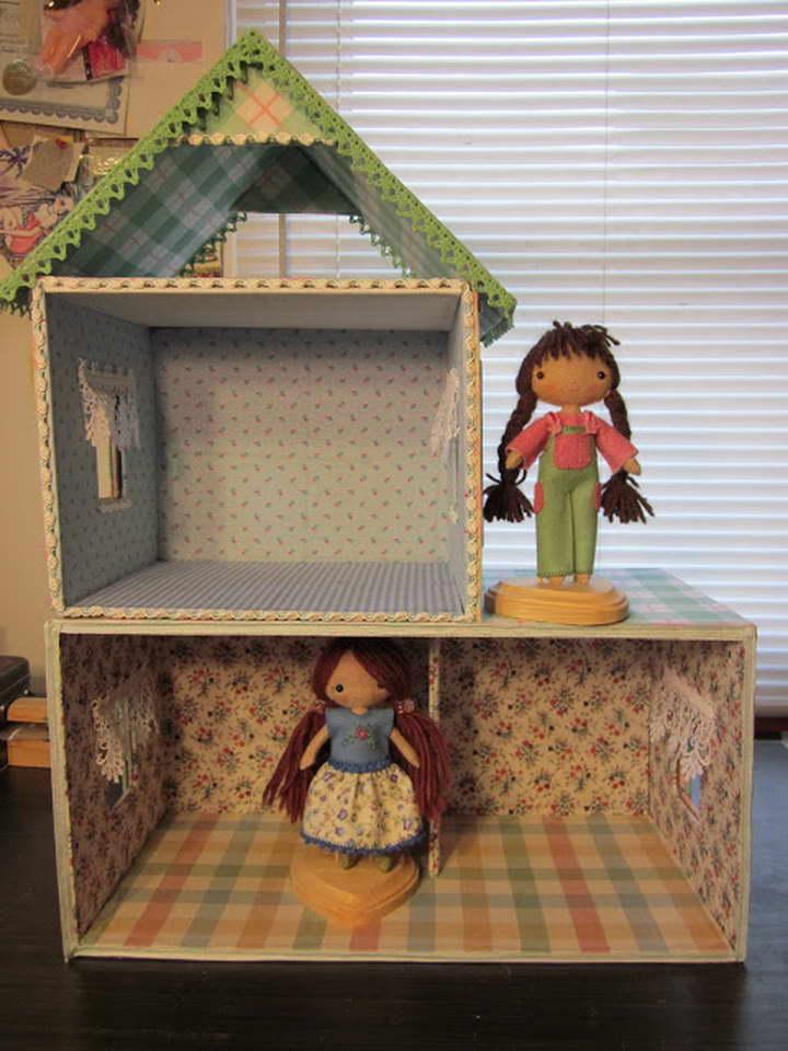Как сделать куклу барби из картона