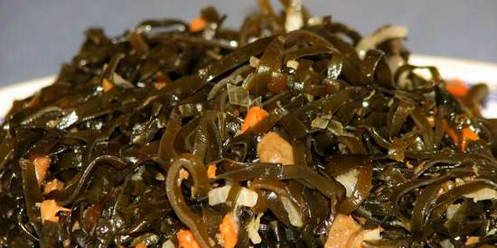 Удивительный дар моря - морская капуста