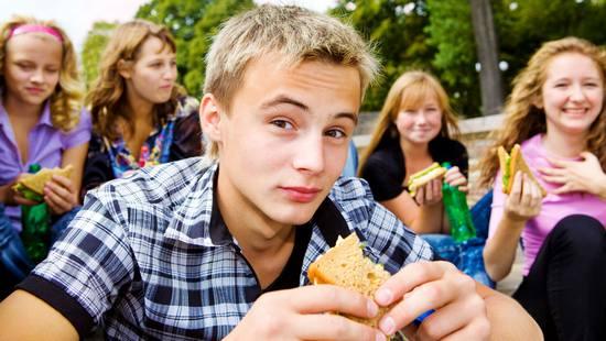 подростковая диета