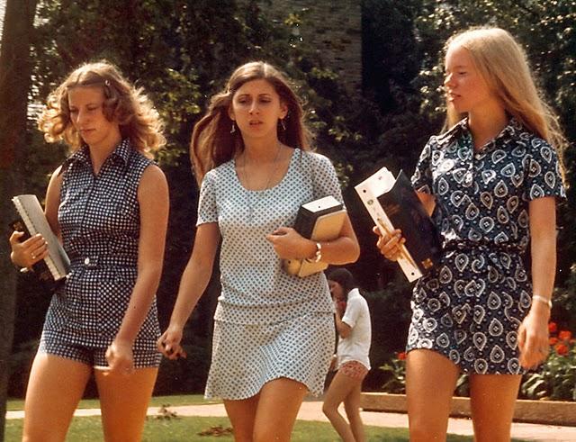 ретро 70-е годы в стиле ретро