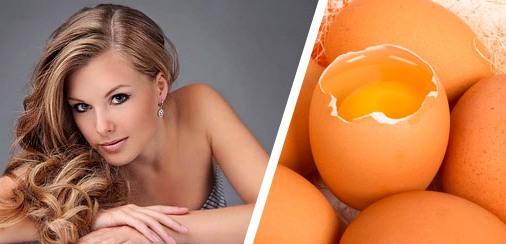 Маска для ваших волос из яйца