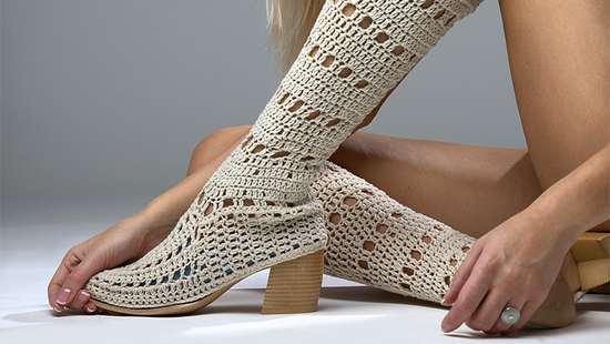 Сапожки для точеной ножки