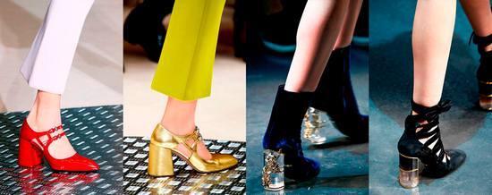 Весенние тенденции модной обуви