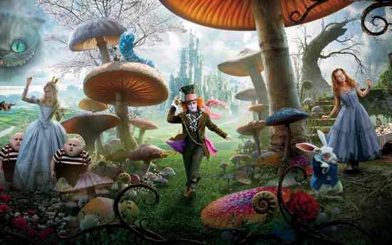 Сказка «Алиса в стране чудес»