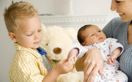 Второй ребенка в семье  Второй ребенка в семье - возможные проблемы между детьми