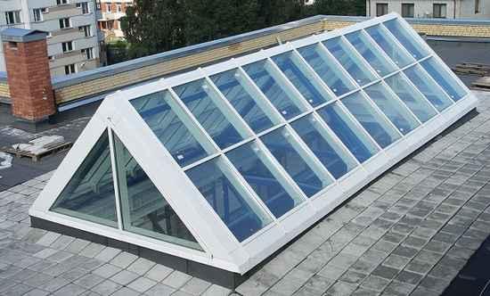 Неожиданное решение: у вашего дома прозрачная крыша!