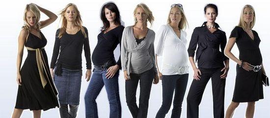 Самая популярная одежда для беременных