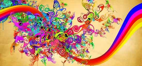 Влияние цветов радуги на человека