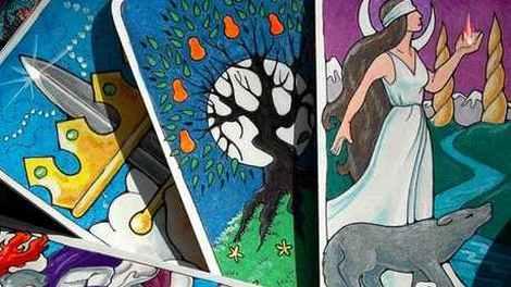 Онлайн гадание на 5 картах Таро
