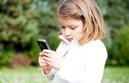 Свести вред до минимума ребенок и мобильный