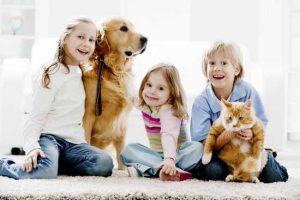 Какого домашнего питомца завести для ребенка