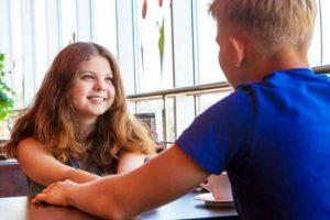 Любовь между подростками