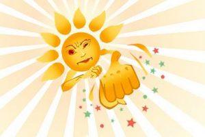 Отдыхаем на пляже — солнечный ожог и тепловой удар