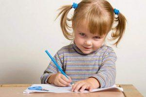 Как научить ребенка писать каллиграфическим почерком