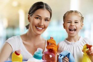 Домашние обязанности девочки-подростка