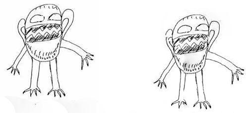 Оружие, кулаки, шипы, клыки что рисует ваш ребенок