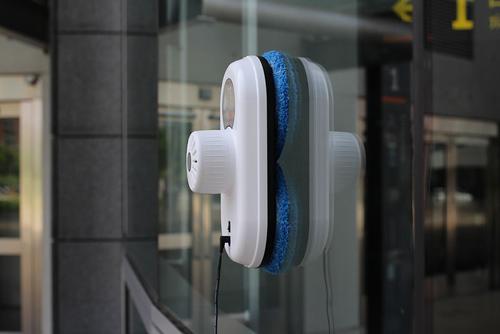 Мыть окна стало гораздо проще робот, hobot, хобот