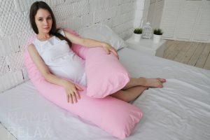 Варианты применения подушки для беременных