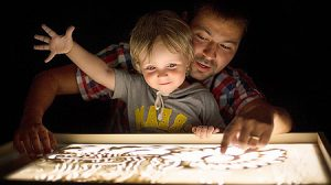 Световые планшеты для рисования песком